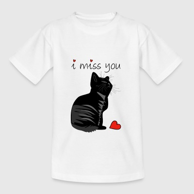 I MISS YOU - Teenage T-shirt