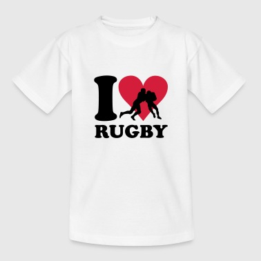 I love Rugby - T-shirt Ado