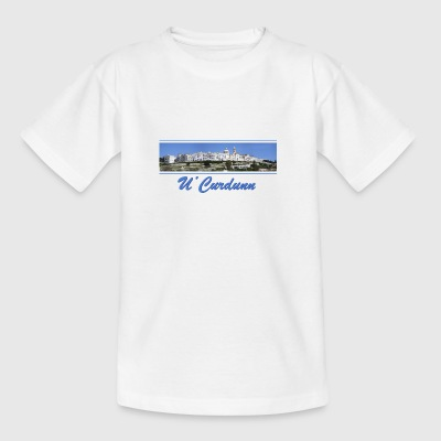 Locorotondo in dialect u'curdunn - Teenage T-shirt