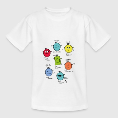 smilies - Teenager T-Shirt