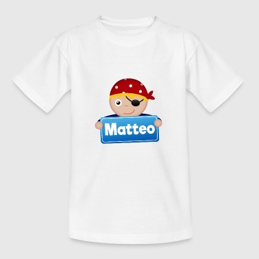 Little Pirate Matteo - T-shirt tonåring
