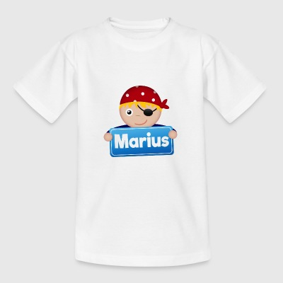 Kleine Piraat Marius - Teenager T-shirt