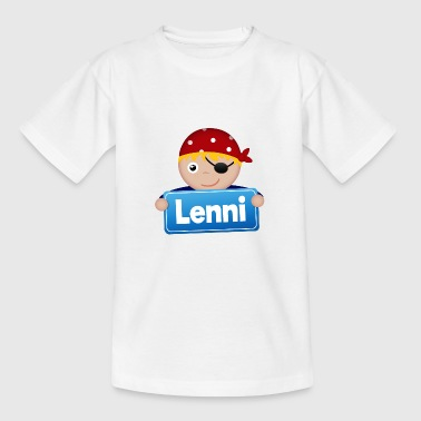 Kleiner Pirat Lenni - Teenager T-Shirt