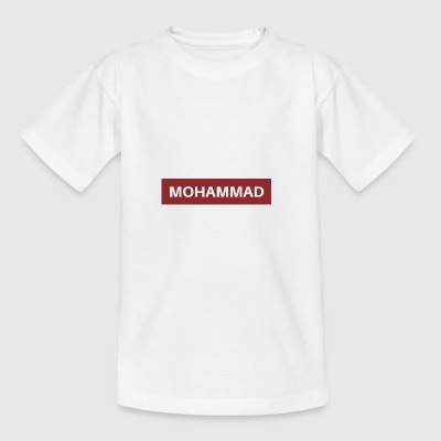 Mohammed - Teenage T-shirt