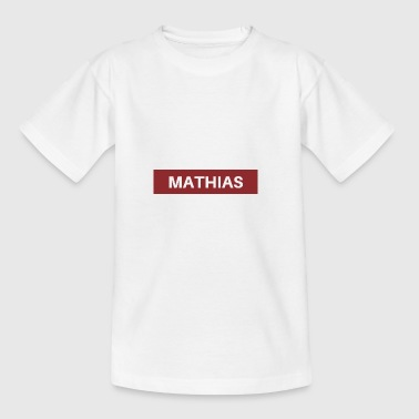 Mathias - Teenager T-Shirt