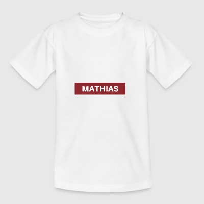 Mathias - Teenage T-shirt
