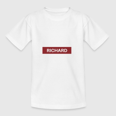 Richard - T-shirt tonåring