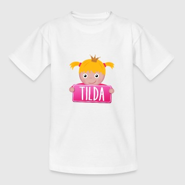 Little Princess Tilda - T-shirt tonåring