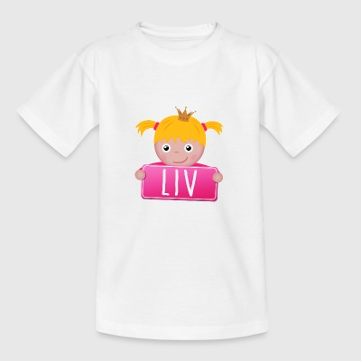 Little Princess Liv - Teenage T-shirt