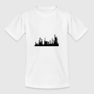 olieraffinaderi - Teenager-T-shirt