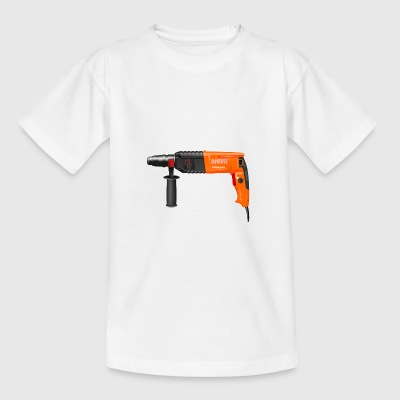 drilling machine - Teenage T-shirt