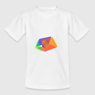 prism and sphere - Teenage T-shirt