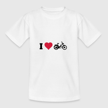 Slowrider I love Mofa SHirt - Teenager T-Shirt