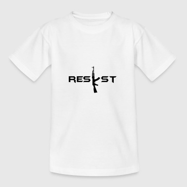 resist - Teenage T-shirt