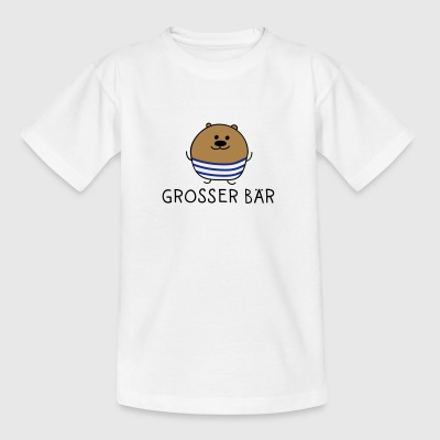 Grosser Bär - Teenager T-Shirt