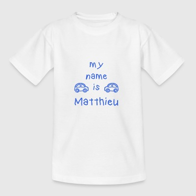 MEIN NAME IST MATTHEW - Teenager T-Shirt