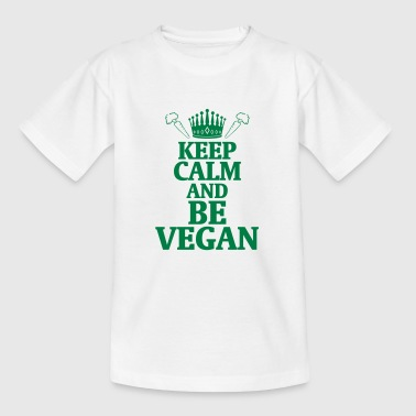 STAY COOL AND LIVE VEGAN! - Teenage T-shirt