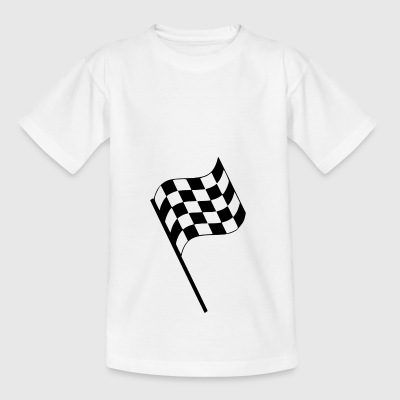 Start flag - Teenage T-shirt