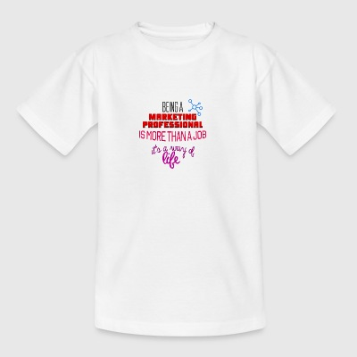 markedsføring Professional - Teenager-T-shirt
