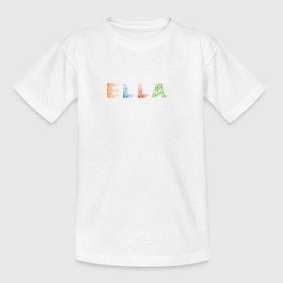 Ella Letter Name - Teenage T-shirt