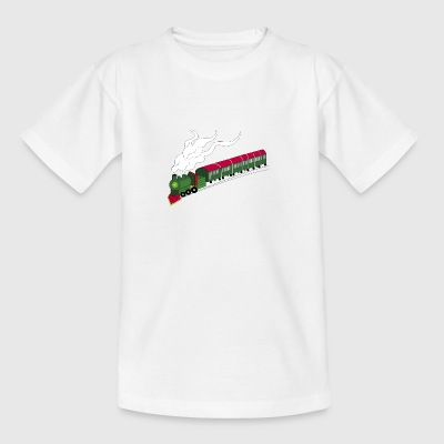 toy train - Teenage T-shirt