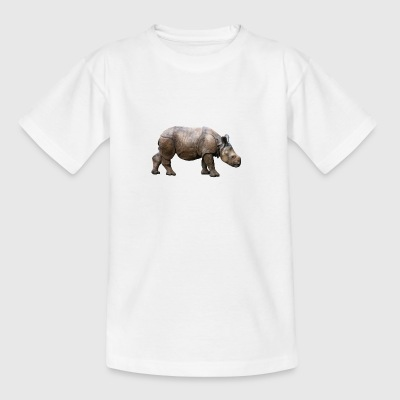 rhinoceros hippo nashorn2 - Teenage T-shirt
