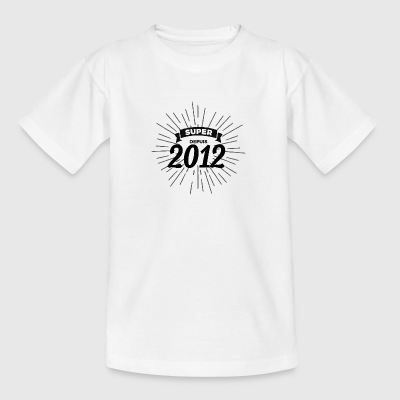 Super sedan 2012 - T-shirt tonåring