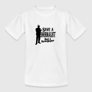 save a journalist - Teenager T-Shirt