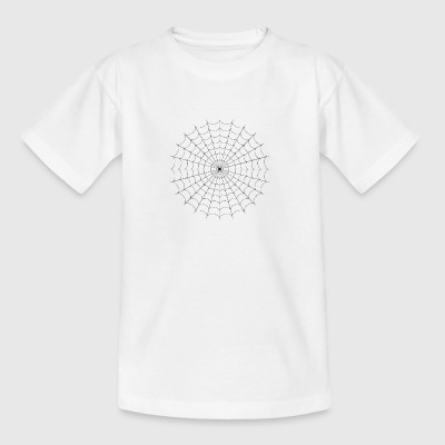 Spinnennetz - Teenager T-Shirt