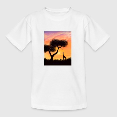 African Sunset - Teenage T-shirt