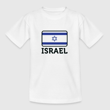 Israels nationale flag - Teenager-T-shirt