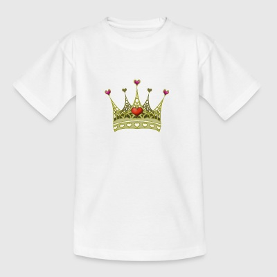 Crown princess - Camiseta adolescente