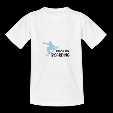 Snowboard - Teenager T-Shirt