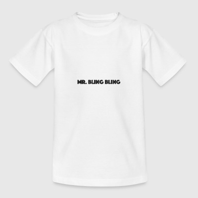 bling bling - Teenager T-Shirt