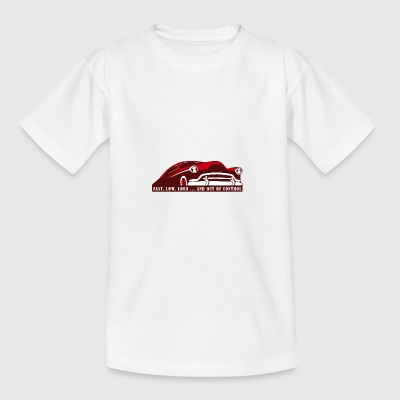 Kustom Car - Fast, Low, Loud ... And Out Of Contro - Teenage T-shirt