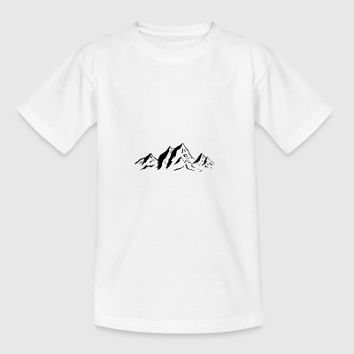 mountains - Teenage T-shirt