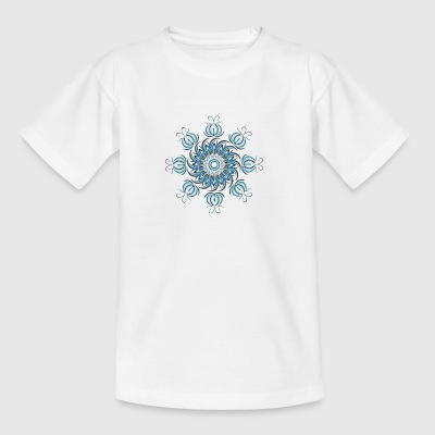 blomstermotiv - Teenager-T-shirt