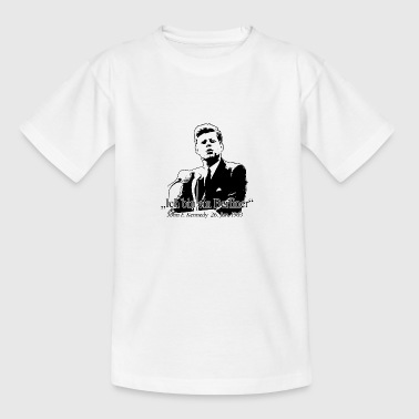 JF Kennedy - Teenager-T-shirt