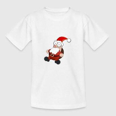 Happy Santa - Teenager T-Shirt