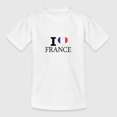 J'AIME FRANCE - T-shirt Ado
