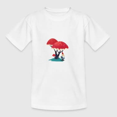 gnome - Teenager-T-shirt