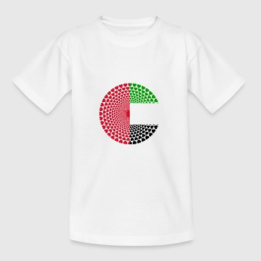 United Arab Emirates UAE United Arab Emirates Mandala - Teenage T-shirt