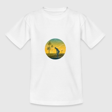 Golfspieler - Teenager T-Shirt
