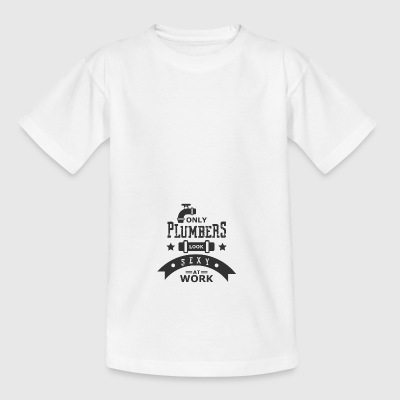 Plumbing water tap Spengler craftsman water tap - Teenage T-shirt
