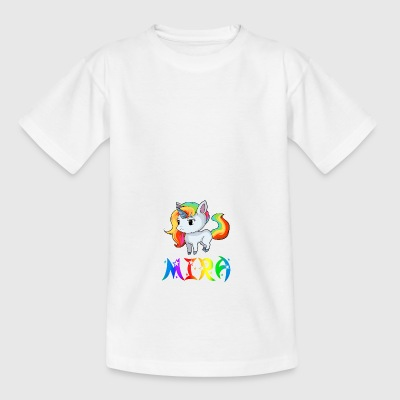 Mira unicorn - Teenage T-shirt
