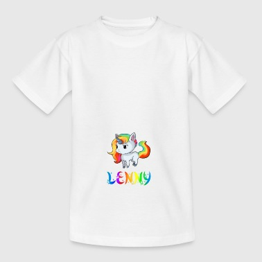 Einhorn Lenny - Teenager T-Shirt