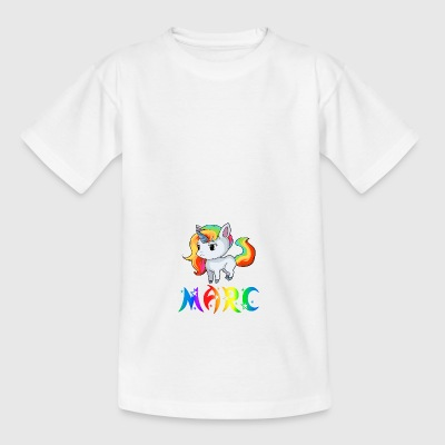 Unicorn Marc - Teenage T-shirt