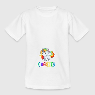 Einhorn Charity - Teenager T-Shirt