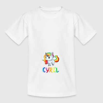 Einhorn Cyril - Teenager T-Shirt