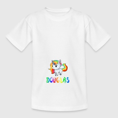 Einhorn Douglas - Teenager T-Shirt